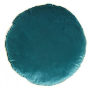 Coussin rond velours Canard