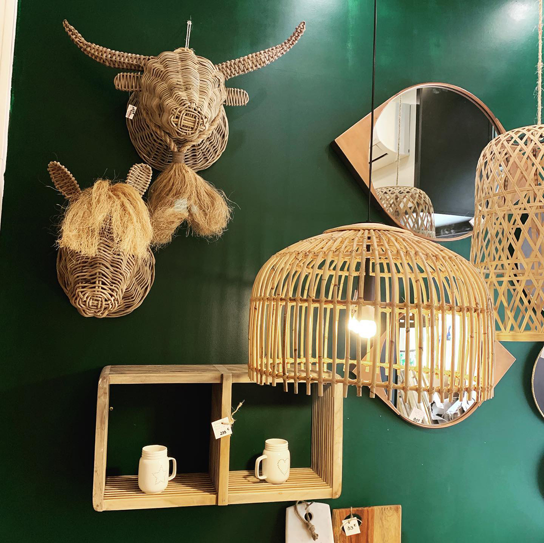 The showroom Chez Nous in Arles - decorative objects and small furniture