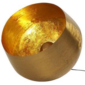 lampe de sol doré